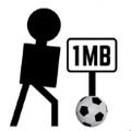 黑色迷你足球