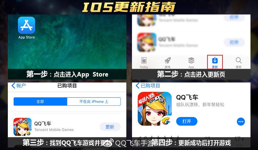 QQ飞车手游苹果版更新失败怎么办_IOS更新卡在97%解决办法