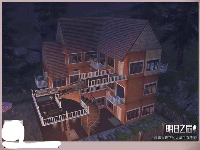 明日之后私人别墅构图 后期完美的别墅建设方案